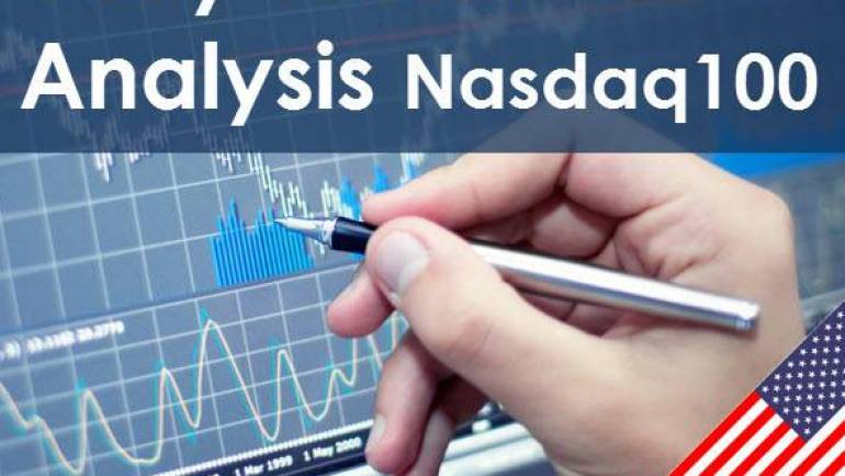 Nasdaq100 Daily Stock Analysis 06-08-2019
